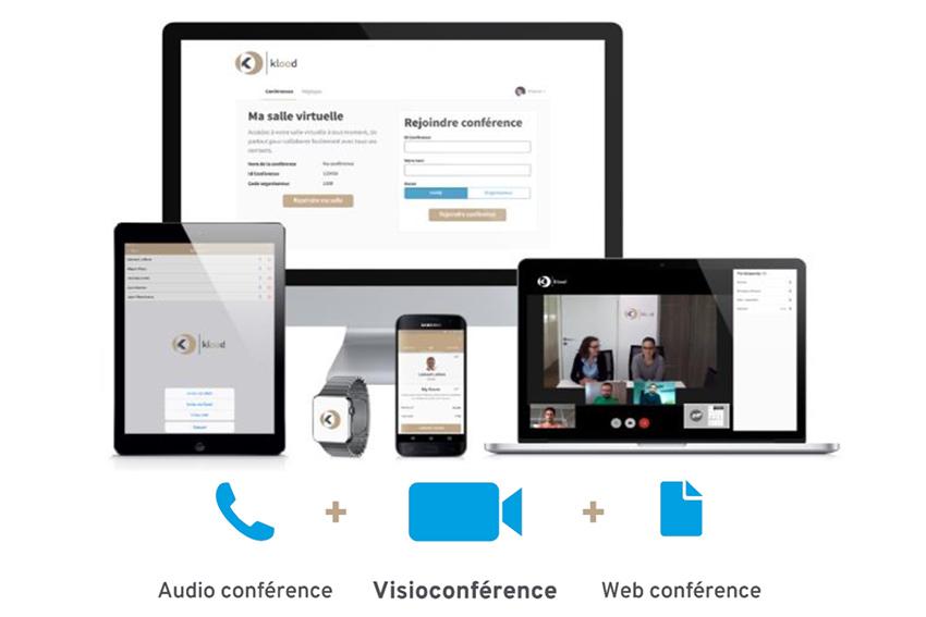 klood, la solution logicielle de visioconférence universelle
