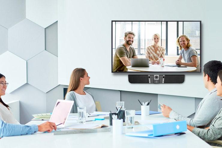 La barre de son vidéo pour salles de réunion vue par AVer