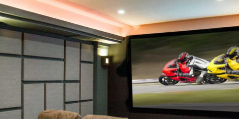 Trois types d'enceintes surround SpeakerCraft pour le home cinema
