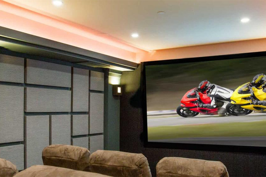 Trois types d'enceintes surround SpeakerCraft pour le home cinema