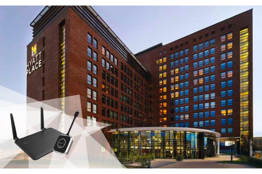 Le Vivitek LauncherPlus facilite les réunions à l'hôtel Hyatt Place Amsterdam Airport