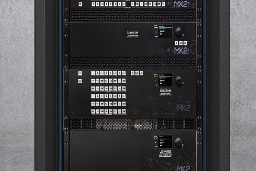 De nouvelles matrices HDMI 4K HDR 16x16 et 24x24 chez Lightware