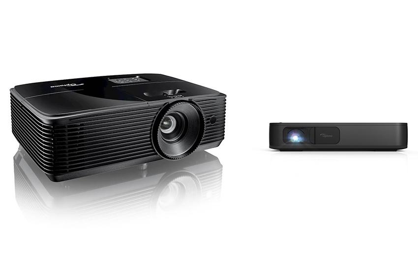 Deux vidéoprojecteurs portables très pratiques chez Optoma