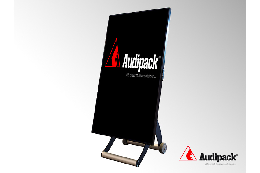 Audipack Move-It : un trolley numérique fonctionnant sur batterie