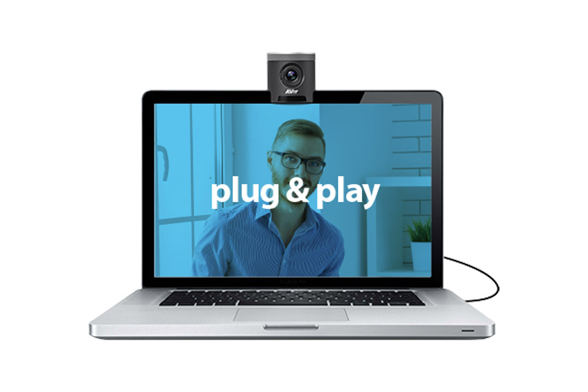 Trois systèmes de vidéoconférence plug-and-play avec AVer
