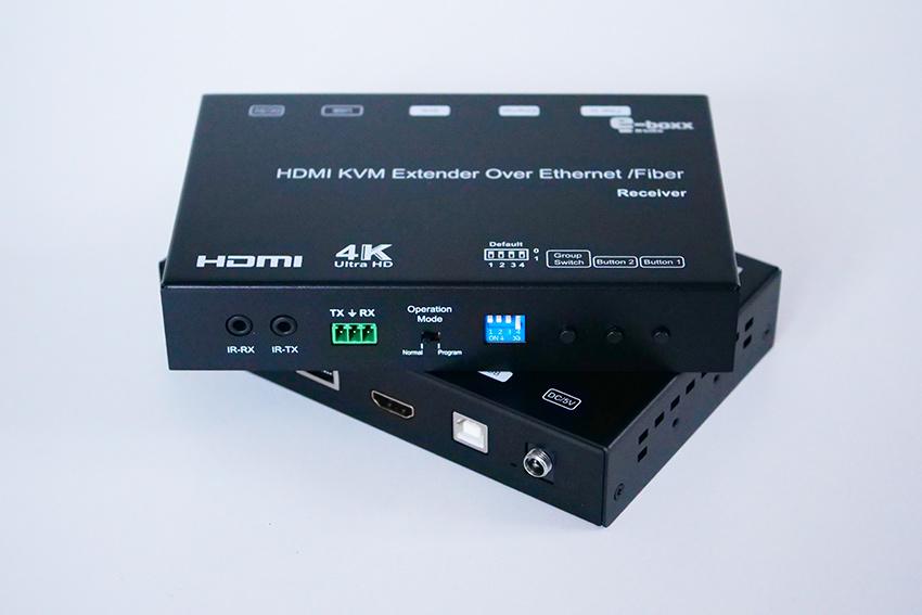 [Test] e-Boxx EFE-HDMI-120 : l'extendeur HDMI UHD/4K KVM sur IP en Ethernet et en fibre optique