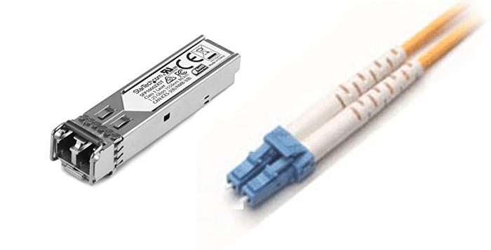 e-Boxx EFE-HDMI-120 module SFP jarretiere LC LC