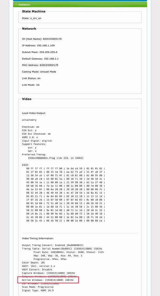 e-Boxx EFE-HDMI-120 webpage