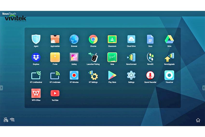 Plein de nouveautés pour l'écran tactile collaboratif Vivitek NovoTouch