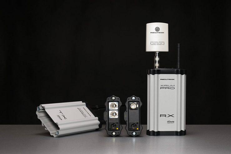 Un système de transmission audio HD sans fil de qualité studio chez Neutrik