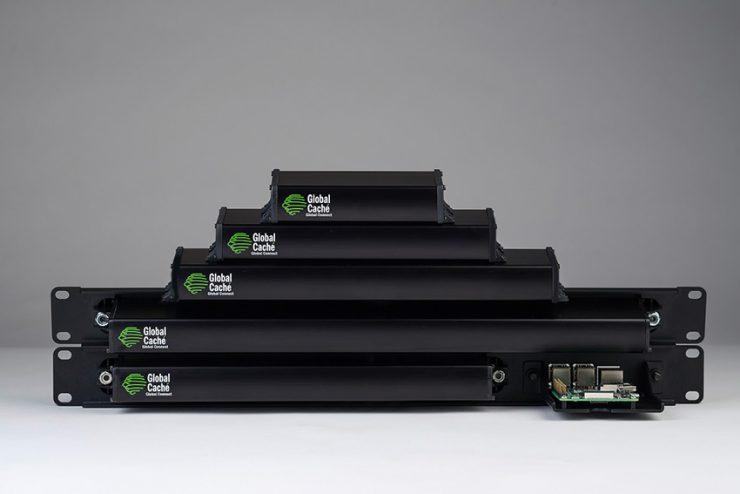 Les nouveaux produits modulaires Global Caché pour le contrôle sur IP sont disponibles