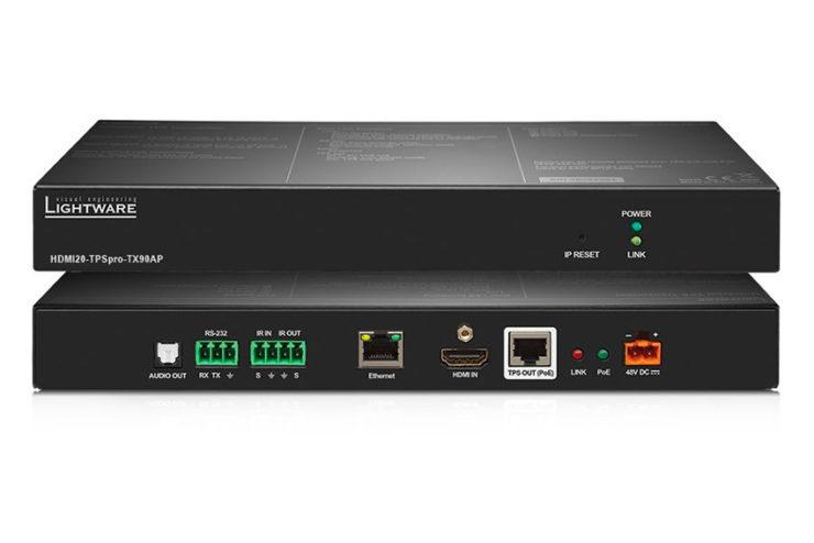 Lightware prépare un nouvel extendeur HDBaseT 4K 18 Gbps