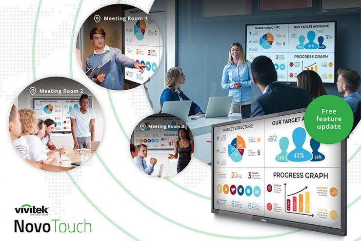 Partagez le contenu d'un NovoTouch vers d'autres NovoTouch pour vos réunions à distance