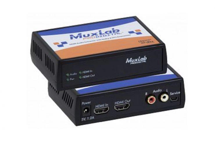 Un extracteur audio HDMI compatible Dolby et DTS
