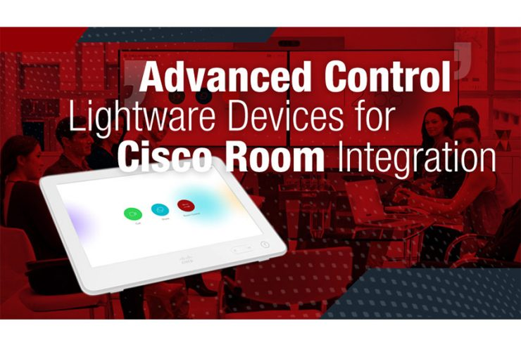 De nouveaux switchs et matrices Lightware compatibles Cisco Webex
