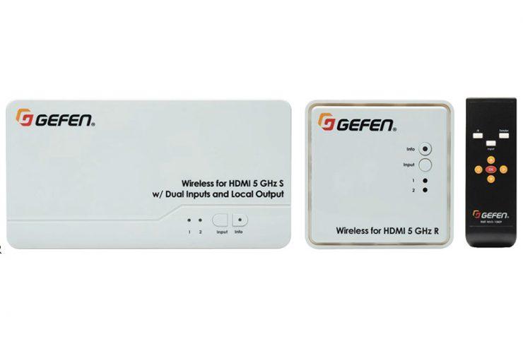 Quand aucun câblage n'est possible, transmettez le HDMI sans fil avec Gefen