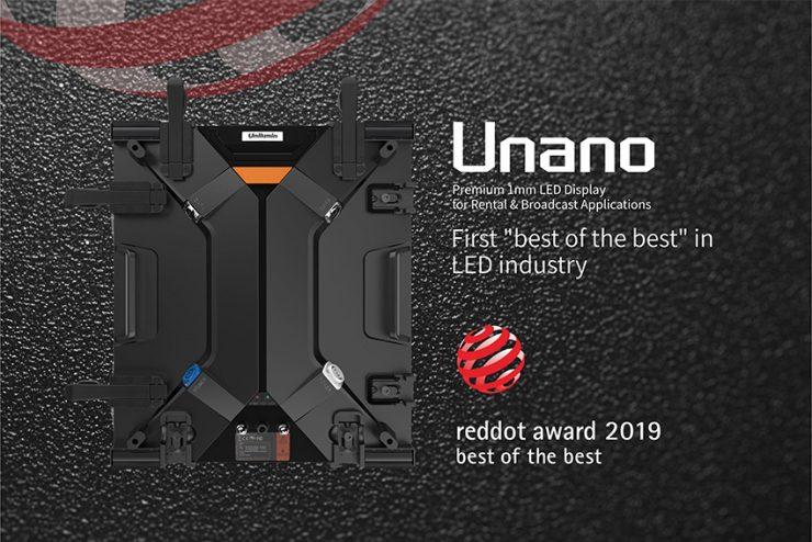 Le panneau LED Unilumin Unano remporte un