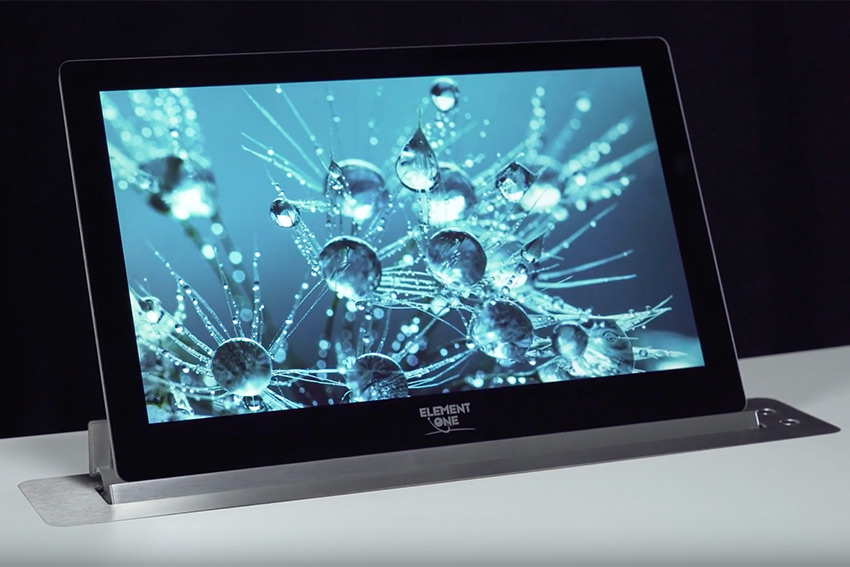 L'écran motorisé Element One Convers Blade 173 est disponible en résolution 4K