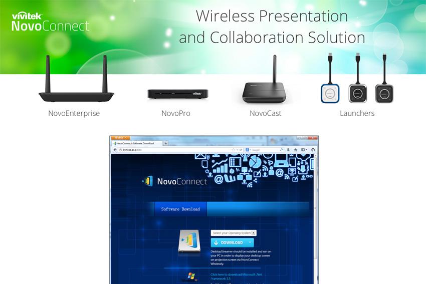 Mise à jour NovoConnect pour étendre le bureau sous Windows 10