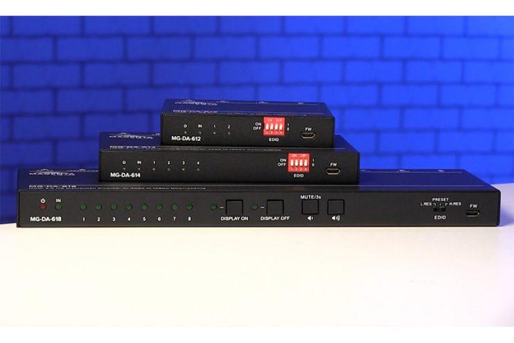 Magenta MG-DA-61x : les mini distributeurs HDMI 4K de tvONE