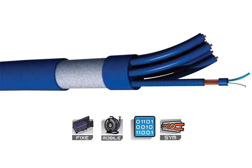 Les multi-paires audio numériques S2CEB Digiflex pour de grandes longueurs
