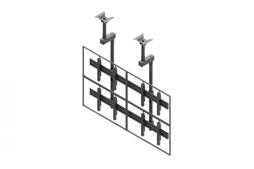 Les supports de plafond multi-écrans signés Edbak