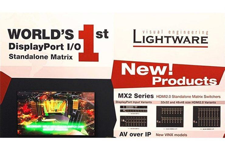 Lightware poursuit le développement de sa gamme de matrices MX2