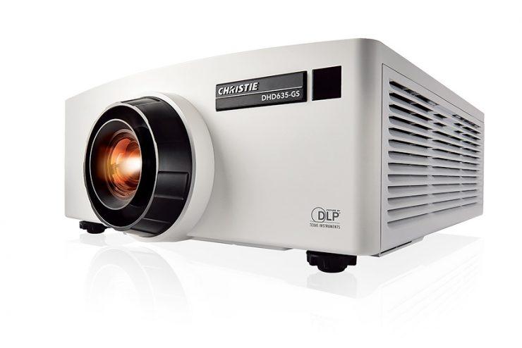 La vidéo projection laser phosphore devient accessible grâce à la série Christie GS