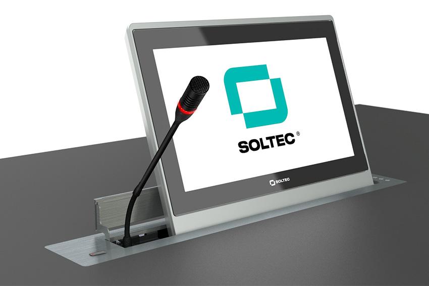 Quels micros col de cygne sont compatibles avec les platines motorisées Soltec ?