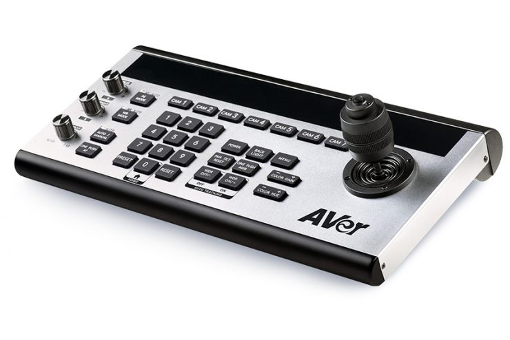 AVer CL01 : un contrôleur de caméras PTZ très pratique