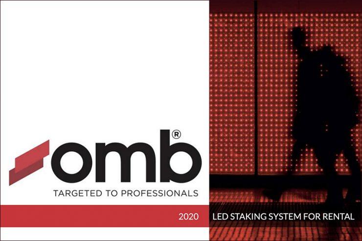 Présentation des supports professionnels Omb pour panneaux LED, moniteurs et vidéoprojecteurs