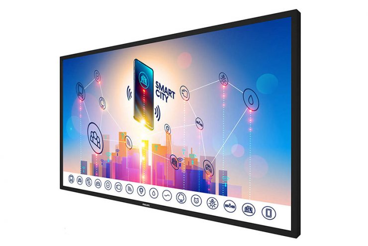 Philips 86BDL3012 : un écran multitouch 86