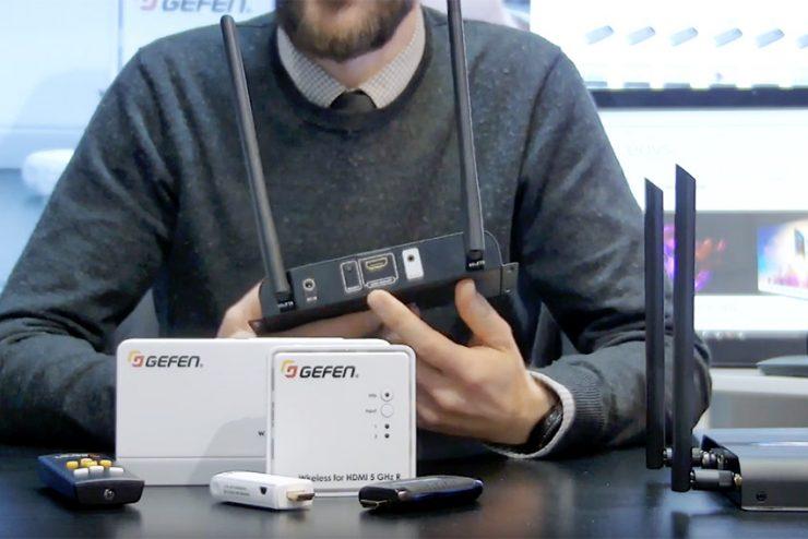 Nouvelle vidéo sur la chaîne EAVS : les extenders HDMI sans fil Gefen et e-Boxx