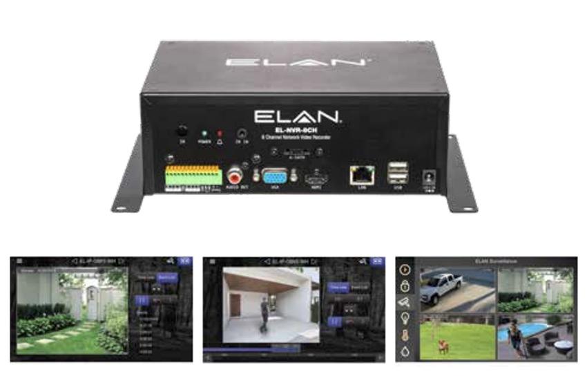 Les nouveautés Elan présentées à l'ISE 2020 : enregistreur vidéosurveillance 8 canaux et distribution audio Dante