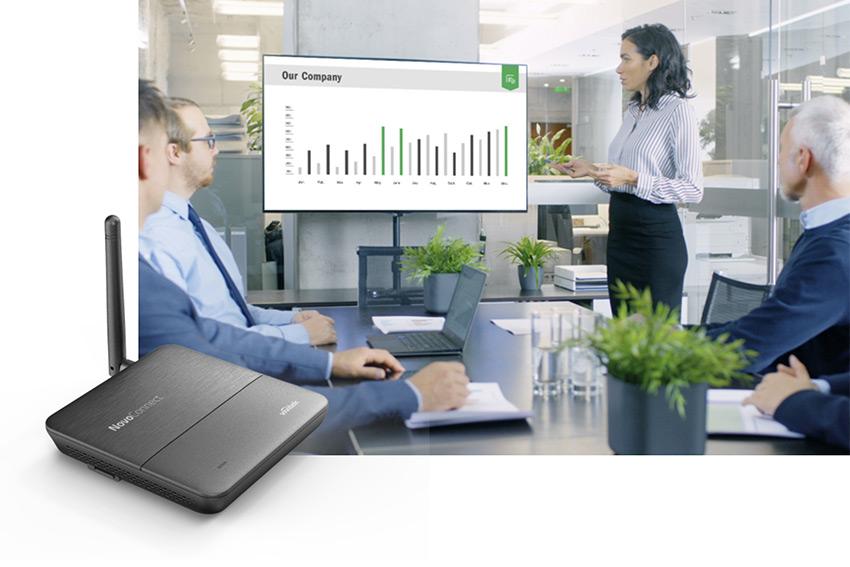 Vivitek renouvelle son hub collaboratif d'entrée de gamme avec le NovoConnect NC-X300