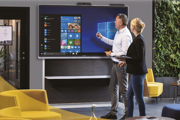 Sharp Windows Collaboration Display : un écran tactile collaboratif hyper connecté