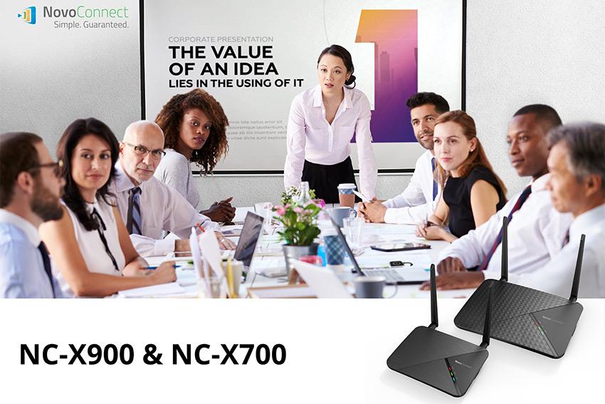 Deux nouveaux hubs collaboratifs NovoConnect chez Vivitek, les NC-X700 et NC-X900