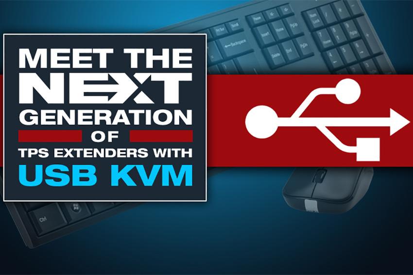 Les extenders Lightware TPS pour salles de réunion deviennent KVM pour gèrer l'USB