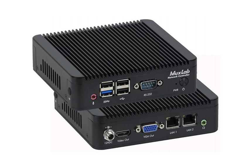 MuxLab 500812 : un nouveau contrôleur AV sur IP pour gérer les extendeurs 4K