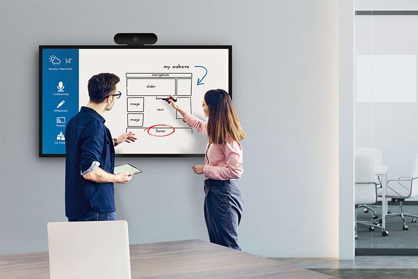 Une nouvelle gamme de moniteurs tactiles Philips C-Line, avec C comme collaboration