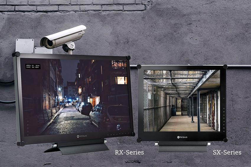 AG Neovo RX & SX : de nouveaux écrans robustes dédiés à la vidéosurveillance