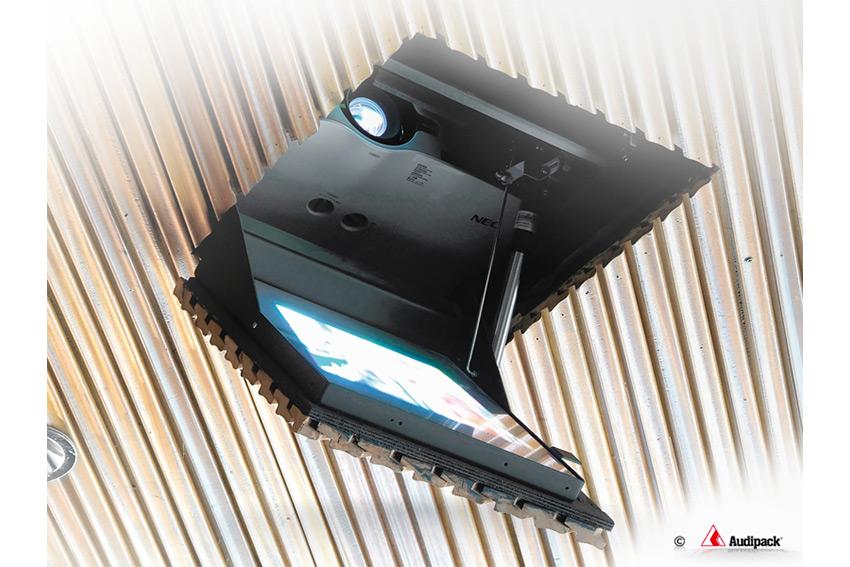Découvrez la gamme de supports de rétro-projection par miroir chez Audipack