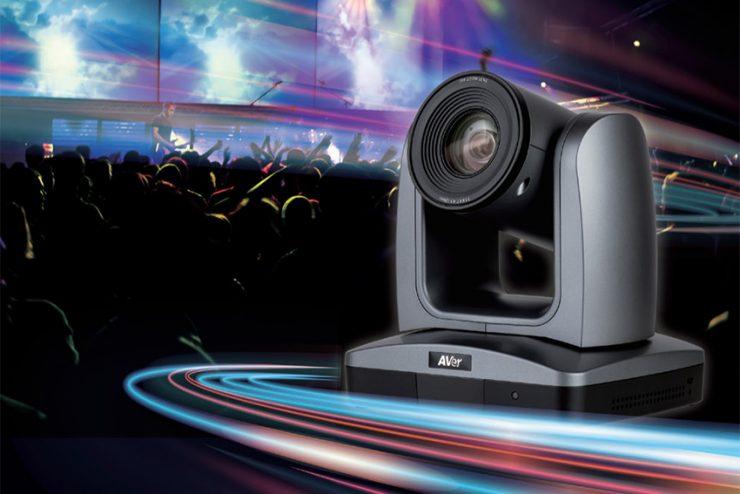 AVer fait passer ses caméras pour l'événementiel au NDI®  HX
