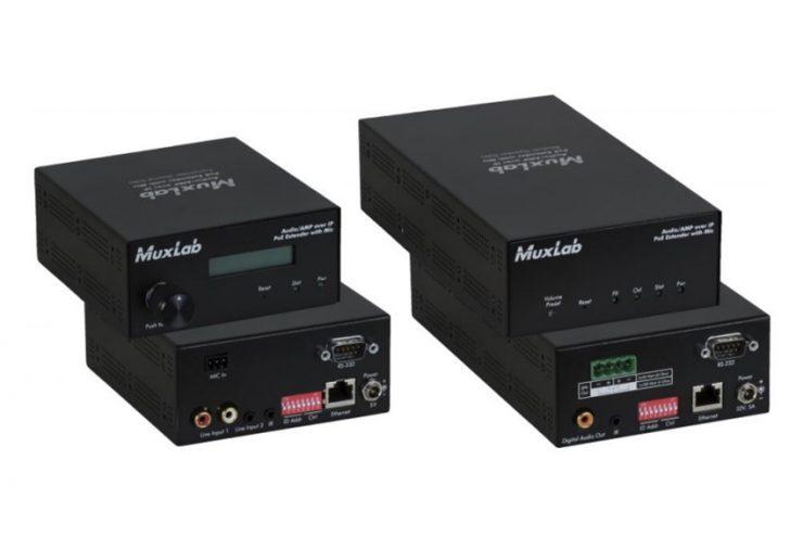 Transmettez facilement de l'audio sur IP grâce aux extenders MuxLab 500755