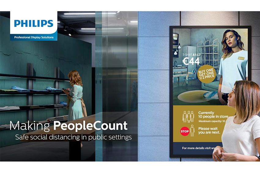 L'application PeopleCount est disponible pour les moniteurs Philips sous Android