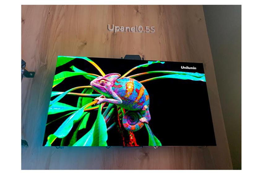 Unilumin ajoute un pitch de 0.5mm aux panneaux UpanelS