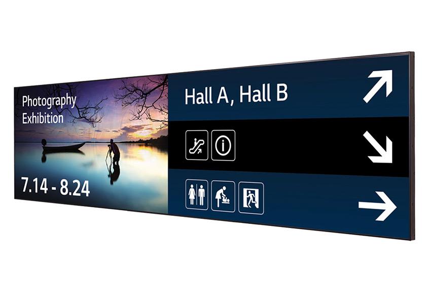 LG 88BH7D-B : un écran ultra stretch pour des affichages tout en longueur