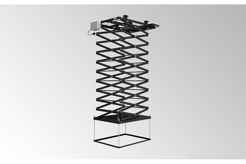 Audipack PCL-5070-10 : un ascenseur motorisé pour vidéoprojecteur avec 4,8m de descente