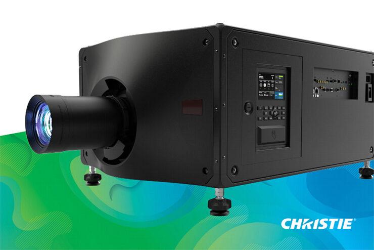 Nouveau vidéoprojecteur Christie Griffyn 4K32-RGB : pure laser RGB et 34.000 lumens