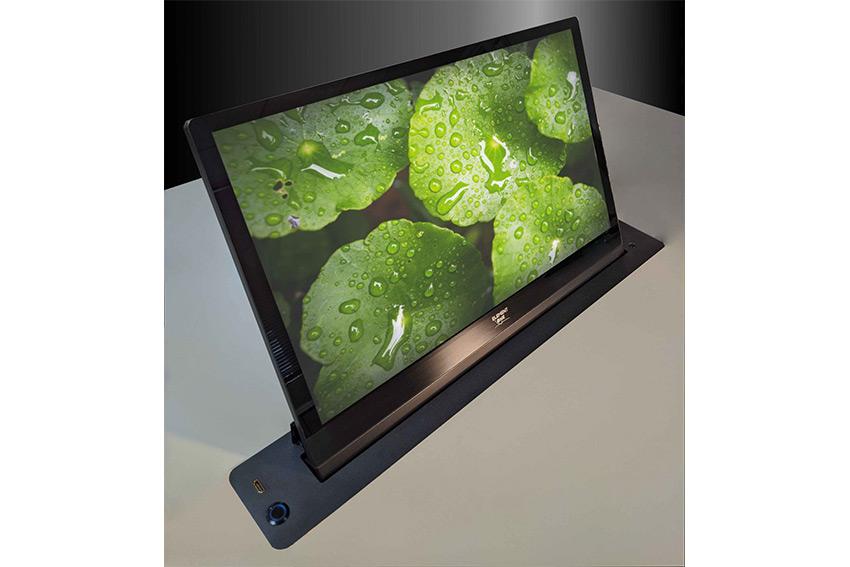 Element One Convers One G 240 : un nouvel écran rétractable grand format avec façade en verre